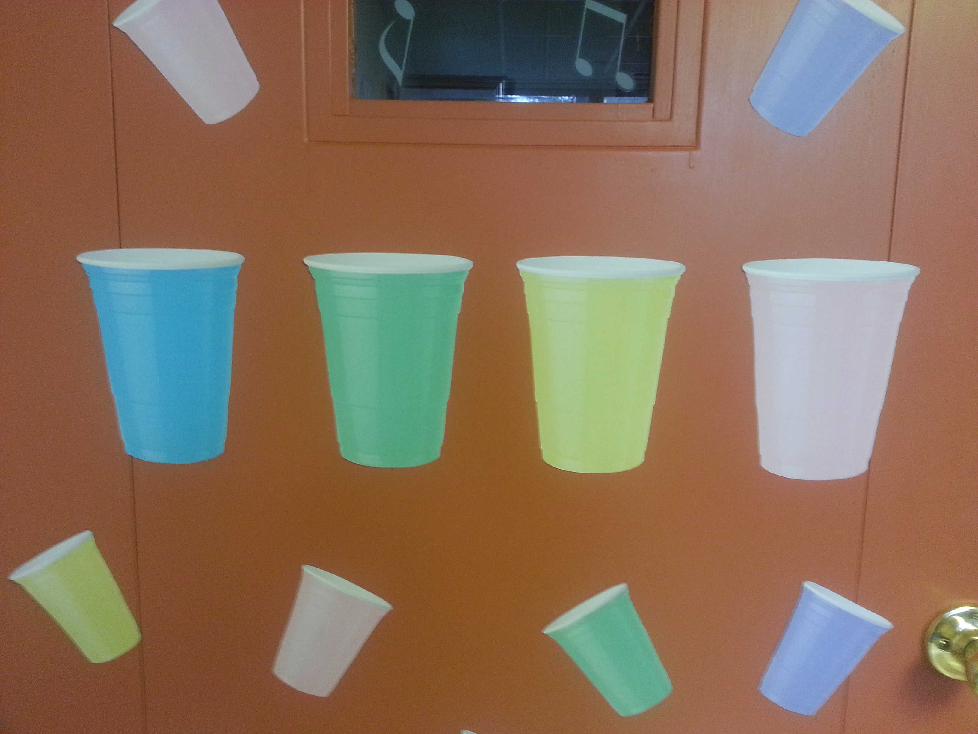 Rhythm Cup Decorations 2