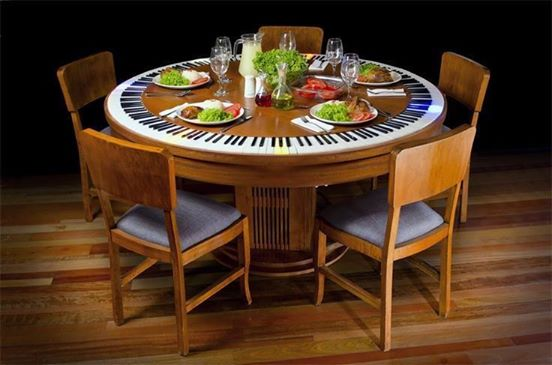 Sharp Dinner Table